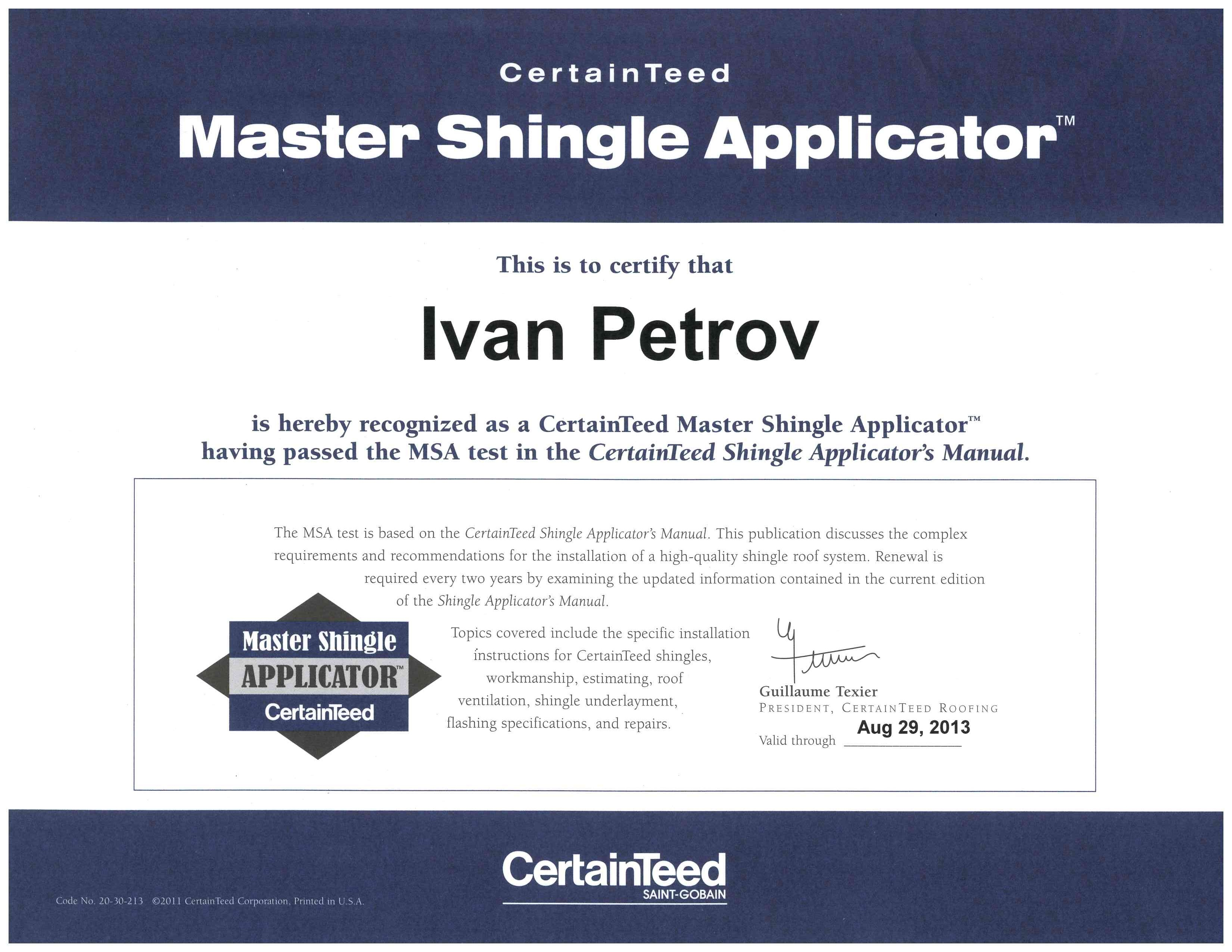 Ivan_Master_Shingle_applicator