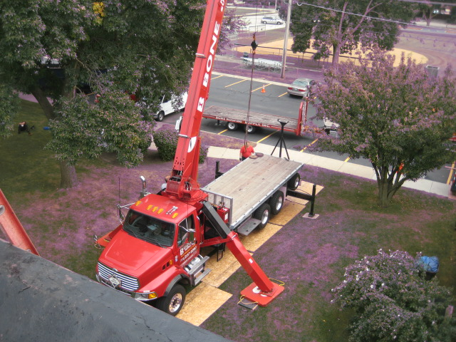Roof Top Delivery