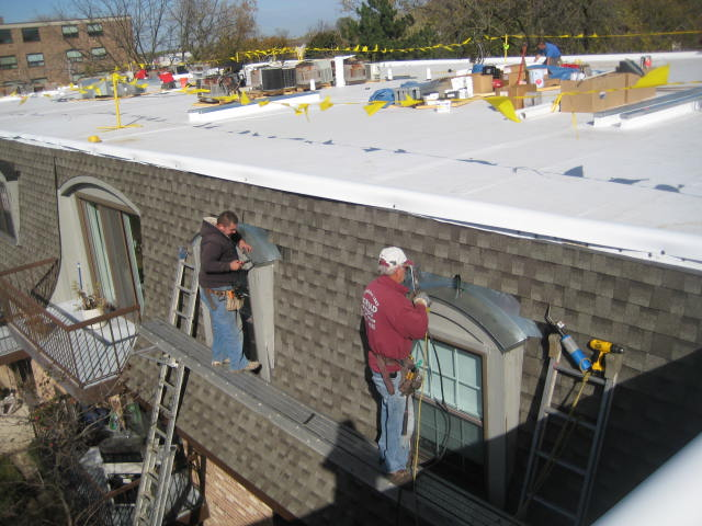 TPO, Shingle and Sheetmetal Work