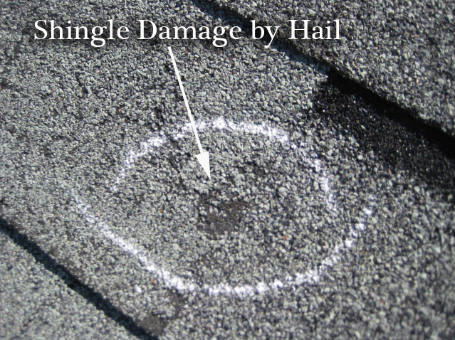 Repair damaged shingles now to avoid winter roof leaks a for Roof leaking in winter