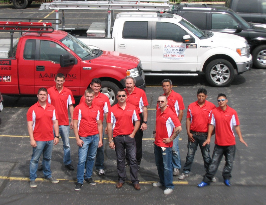A+ Roofing – Naperville Hail & Wind Damage Contractor